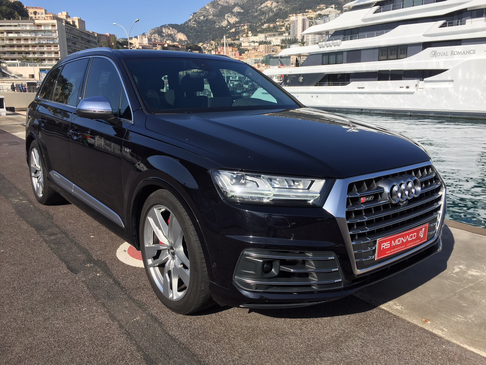 audi sq7 2 4l tdi 435 quattro tiptro 7 places s l ctionn par rs monaco. Black Bedroom Furniture Sets. Home Design Ideas